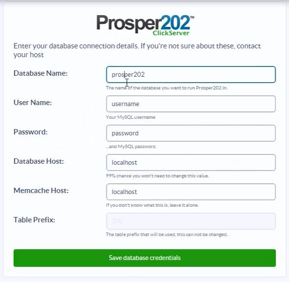 Prosper202 регистрация