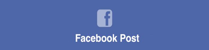 Как сделать публикацию на странице Фейсбук